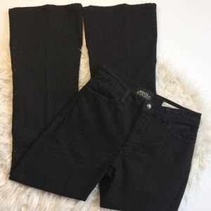 NYDJ Not Your Daughters Jeans Black Flare